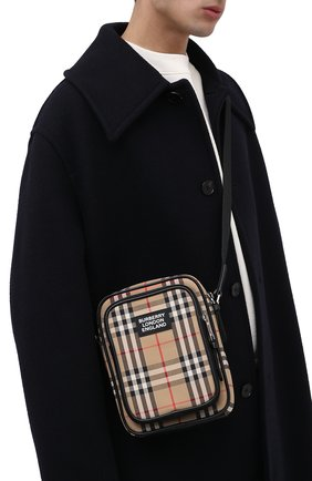 Мужская сумка-планшет BURBERRY бежевого цвета, арт. 8023381 | Фото 2
