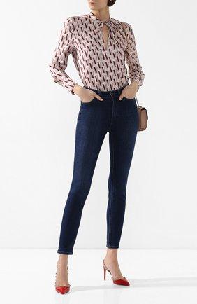 Женская кожаные туфли valentino garavani rockstud VALENTINO красного цвета, арт. TW2S0H04/VNW | Фото 2