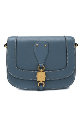 Женская сумка valentino garavani vlocker small VALENTINO синего цвета, арт. TW2B0F70/WDJ | Фото 1