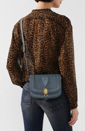 Женская сумка valentino garavani vlocker small VALENTINO синего цвета, арт. TW2B0F70/WDJ | Фото 2