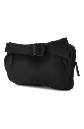 Мужская текстильная поясная сумка DSQUARED2 черного цвета, арт. BBM0020 11702174   Фото 3