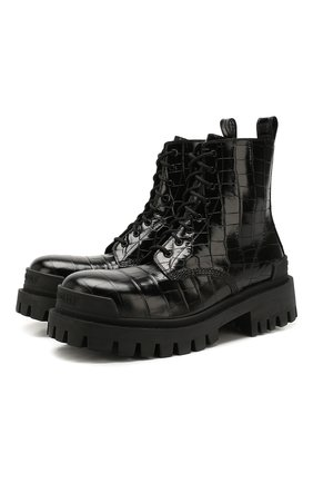 Кожаные ботинки Strike | Фото №1