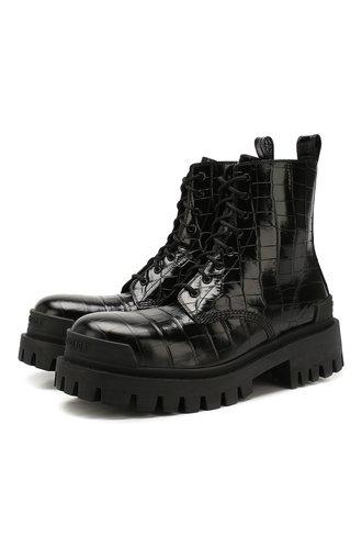 Кожаные ботинки Strike