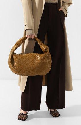 Женская сумка bv jodie small BOTTEGA VENETA хаки цвета, арт. 600261/VCPP0 | Фото 2