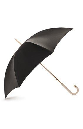 Женский зонт-трость PASOTTI OMBRELLI черного цвета, арт. 189/RAS0 5G248/3/M17 | Фото 2