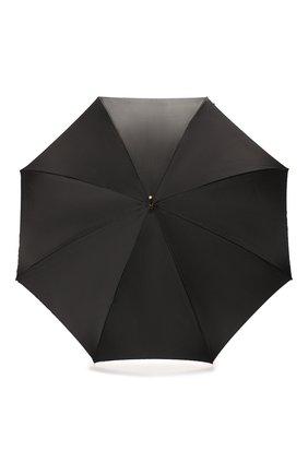 Женский зонт-трость PASOTTI OMBRELLI черного цвета, арт. 189/RAS0 58112/166/M17 | Фото 1