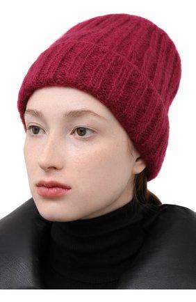 Женская шапка gardenia CANOE бордового цвета, арт. 4922422 | Фото 2