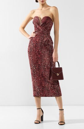 Женское платье-миди RASARIO розового цвета, арт. 0042W9_2 | Фото 2