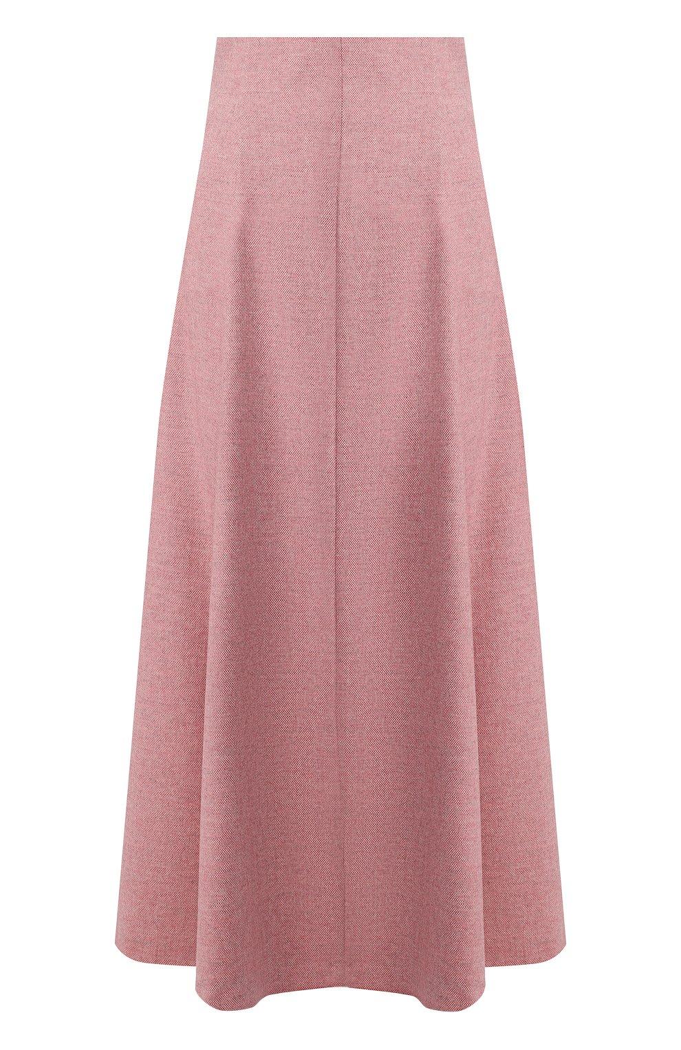 Женская шерстяная юбка ULYANA SERGEENKO розового цвета, арт. 0259р18 (GNM001FW19P)   Фото 1