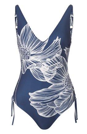 Женский слитный купальник GOTTEX синего цвета, арт. 20LY038   Фото 1