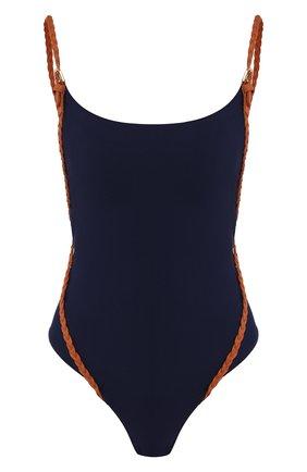 Женский слитный купальник GOTTEX синего цвета, арт. 20BM020 | Фото 1