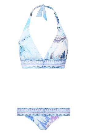 Женский раздельный купальник GOTTEX синего цвета, арт. 20PAB21-20PAP03   Фото 1