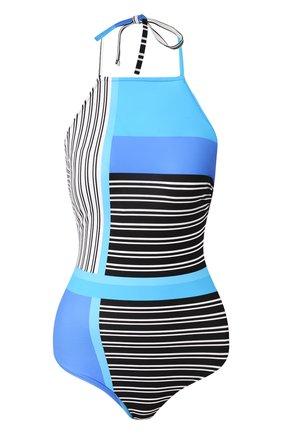 Женский слитный купальник GOTTEX синего цвета, арт. 20BL148 | Фото 1