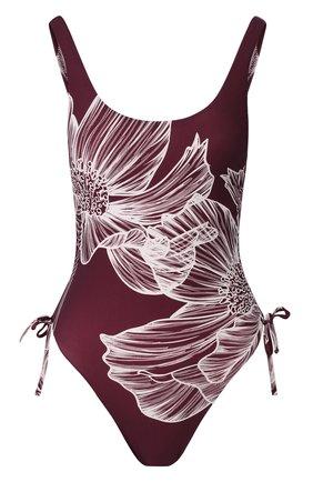 Женский слитный купальник GOTTEX бордового цвета, арт. 20LY020 | Фото 1
