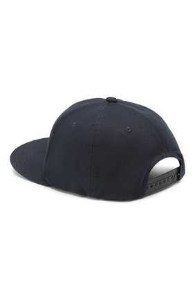 Мужской хлопковая бейсболка BOSS темно-синего цвета, арт. 50422981 | Фото 2