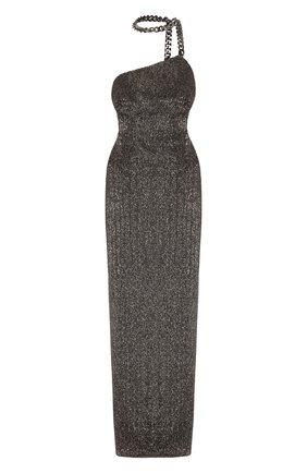 Женское платье-макси TOM FORD серебряного цвета, арт. AB2735-SDE235   Фото 1