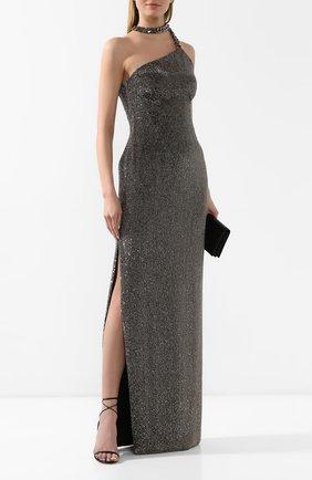 Женское платье-макси TOM FORD серебряного цвета, арт. AB2735-SDE235   Фото 2