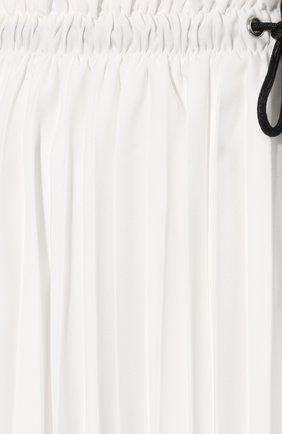 Женская юбка PROENZA SCHOULER WHITE LABEL белого цвета, арт. WL2015065-BY152 | Фото 5 (Материал внешний: Синтетический материал; Длина Ж (юбки, платья, шорты): Миди; Материал подклада: Синтетический материал; Статус проверки: Проверена категория)