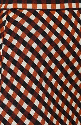 Женская юбка из вискозы PROENZA SCHOULER WHITE LABEL разноцветного цвета, арт. WL2015068-BY151 | Фото 5 (Длина Ж (юбки, платья, шорты): Миди; Материал подклада: Синтетический материал)