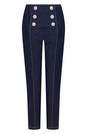 Женские джинсы GIUSEPPE DI MORABITO синего цвета, арт. PS20024PA-74   Фото 1
