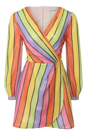 Женское платье с пайетками OLIVIA RUBIN разноцветного цвета, арт. 0R0275/MEG DRESS | Фото 1