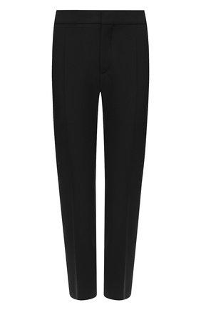 Женские шерстяные брюки CHLOÉ черного цвета, арт. CHC20SPA93062 | Фото 1