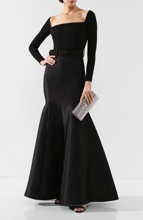 Женское платье-макси SOLACE черного цвета, арт. 0S25103 | Фото 2