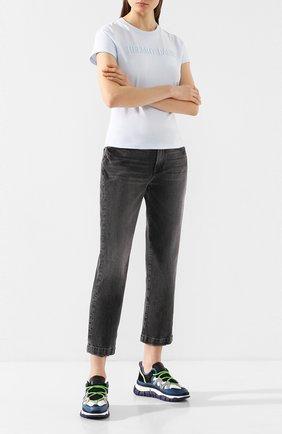 Женские джинсы FRAME DENIM серого цвета, арт. LNSWH504 | Фото 2