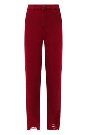 Женские джинсы J BRAND бордового цвета, арт. JB002680 | Фото 1