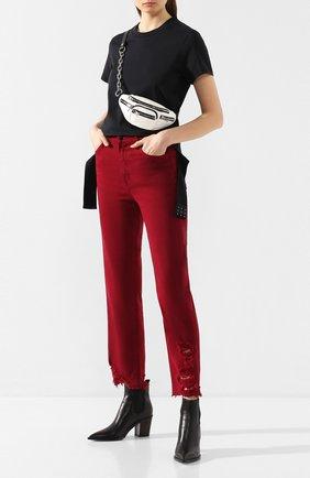 Женские джинсы J BRAND бордового цвета, арт. JB002680 | Фото 2