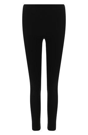 Женские леггинсы BALENCIAGA черного цвета, арт. 591817/399B3 | Фото 1