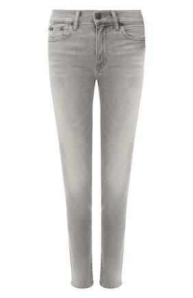 Женские джинсы POLO RALPH LAUREN серого цвета, арт. 211790322 | Фото 1