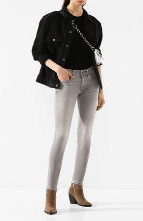 Женские джинсы POLO RALPH LAUREN серого цвета, арт. 211790322 | Фото 2