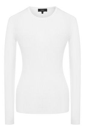 Женская шерстяной пуловер THEORY кремвого цвета, арт. J1111704 | Фото 1