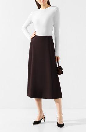Женская шерстяной пуловер THEORY кремвого цвета, арт. J1111704 | Фото 2