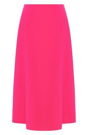 Женская юбка-миди THEORY фуксия цвета, арт. J0109302 | Фото 1
