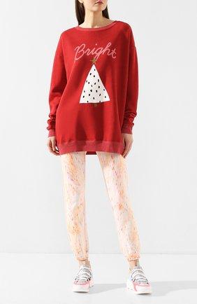 Женская свитшот WILDFOX красного цвета, арт. WFL7485K2   Фото 2