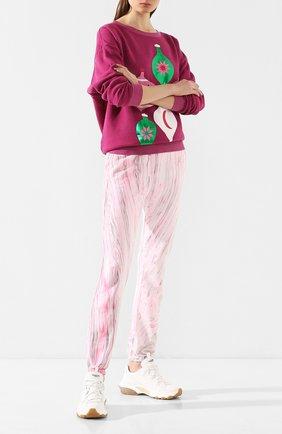 Женские хлопковые джоггеры COTTON CITIZEN розового цвета, арт. W420461   Фото 2
