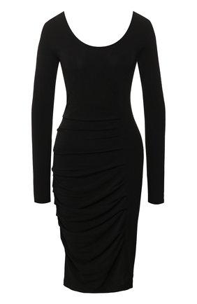 Женское платье BY MALENE BIRGER черного цвета, арт. Q55597178/IRWINIA   Фото 1