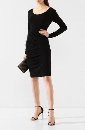 Женское платье BY MALENE BIRGER черного цвета, арт. Q55597178/IRWINIA   Фото 2
