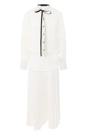 Женское платье-миди PROENZA SCHOULER белого цвета, арт. R2013032-BY140 | Фото 1