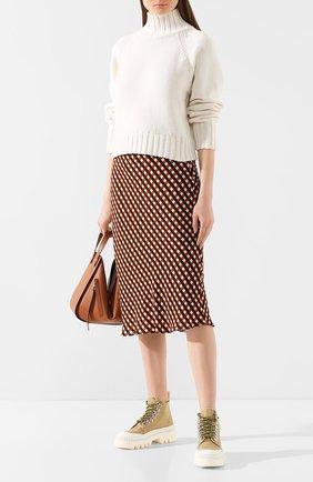 Женская кашемировый свитер PROENZA SCHOULER кремвого цвета, арт. R2017366-KK017 | Фото 2
