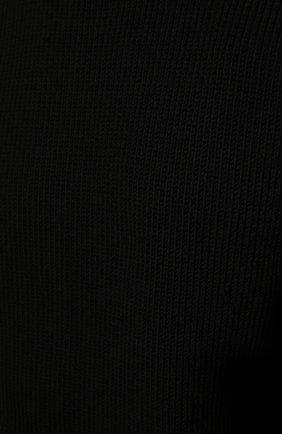 Мужской хлопковый свитер SAINT LAURENT черного цвета, арт. 604798/YAL02 | Фото 5 (Рукава: Длинные; Принт: Без принта; Длина (для топов): Стандартные; Стили: Гранж; Материал внешний: Хлопок; Мужское Кросс-КТ: Свитер-одежда; Статус проверки: Проверена категория)
