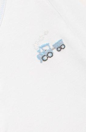 Детский комплект из распашонки и ползунков MAGNOLIA BABY синего цвета, арт. 569-32P-LB | Фото 6