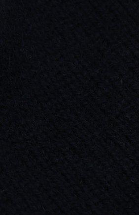 Детского кашемировая шапка OSCAR ET VALENTINE синего цвета, арт. BON01 | Фото 3