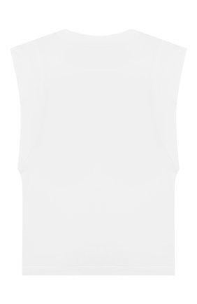 Детская топ MARYSIA BUMBY белого цвета, арт. BC051 | Фото 2