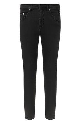 Мужские джинсы NEIL BARRETT темно-серого цвета, арт. PBDE288B/N804T | Фото 1