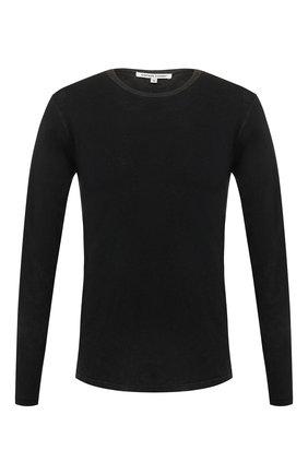Мужская хлопковый лонгслив COTTON CITIZEN черного цвета, арт. M70011 | Фото 1