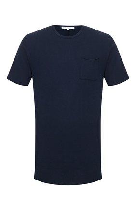 Мужская хлопковая футболка COTTON CITIZEN темно-синего цвета, арт. M602715 | Фото 1
