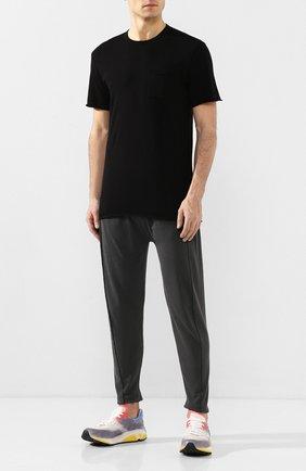 Мужская хлопковая футболка COTTON CITIZEN черного цвета, арт. M602715 | Фото 2